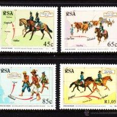 Sellos: SUDAFRICA 825/28** - AÑO 1993 - DIA DEL SELLO - PRIMER SERVICIO POSTAL DE EL CABO. Lote 47155123
