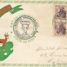 Sellos: 1945 - CARTA DIRIGIDA A PRETORIA - SUDAFRICA. Lote 49522168