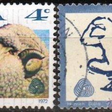 Sellos: SUDAFRICA 1972. SERIE. OVEJA E INDUSTRIA LANA. RSA 15C SIN FILIGRANA. *.MH. Lote 49862892