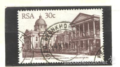 SOUTH AFRICA 1982 - SCOTT NRO. 598 - USADO (Sellos - Extranjero - África - Sudáfrica)