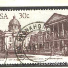 Sellos: SOUTH AFRICA 1982 - SCOTT NRO. 598 - USADO. Lote 57111630