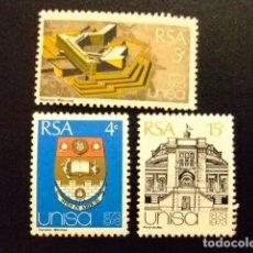 Sellos: AFRIQUE DU SUD SOUTH AFRICA AFRICA DEL SUR RSA 1973 YVERT Nº 341 / 343 ** MNH. Lote 72374171