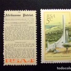 Sellos: AFRIQUE DU SUD SOUTH AFRICA AFRICA DEL SUR RSA 1975 YVERT Nº 390 / 391 ** MNH. Lote 72374551
