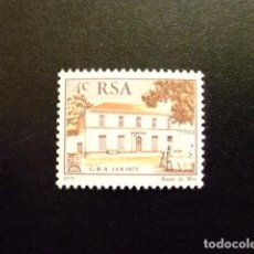 Sellos: AFRIQUE DU SUD SOUTH AFRICA AFRICA DEL SUR RSA 1975 YVERT Nº 388 ** MNH. Lote 72374879