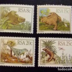 Sellos: AFRIQUE DU SUD SOUTH AFRICA AFRICA DEL SUR RSA 1982 ANIMALES PREHISTORICOS YVERT Nº 527 / 30 ** MNH. Lote 72428927