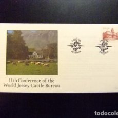 Sellos: AFRICA DEL SUR RSA 1986 FDC CONFERENNCE OF THE WORLD JERSEY CATTLE BUREAU YVERT Nº 603. Lote 72429079