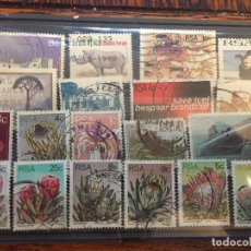 Sellos: 19 SELLOS DE SUDAFRICA DIFERENTES. Lote 79024917