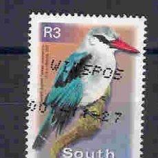 Sellos: AVES DE SUDÁFRICA. SELLO AÑO 2000. Lote 85375372