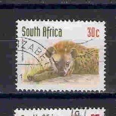 Sellos: FAUNA SALVAJE DE SOUTH ÁFRICA. SELLOS AÑO 1998. Lote 87501332