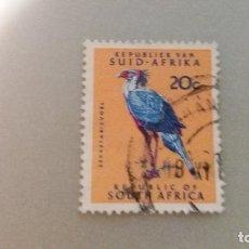 Sellos: SELLO USADO DE 1970 DE 20 CENTIMOS. AVE. SUDAFRICA. Lote 88864704