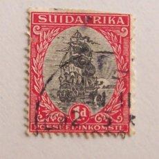 Sellos: SUDAFRICA (SUIDAFRIKA) 1926, VAN RIEBEECK'S SHIP (BARCOS) 1D. Lote 91862445