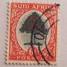 Sellos: SUDAFRICA (SUIDAFRIKA) 1926, ORANGE TREE 6D. Lote 91862555