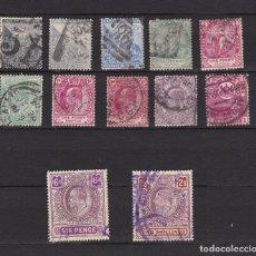 Sellos: CABO DE BUENA ESPERANZA - SUDAFRICA - GRAN BRETAÑA POSESIONES USADOS LOTE 12. Lote 98245215
