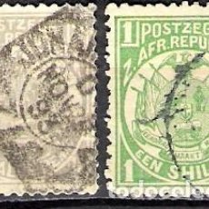 Timbres: SUDAFRICA, REPUBLICA SUDAFRICANA 1885 - USADO. Lote 100570443