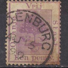 Sellos: SUDAFRICA, ESTADO LIBRE DE ORANGE 1894 - USADO. Lote 100573187