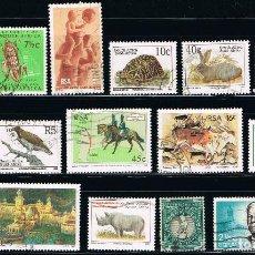 Sellos: SUDAFRICA - LOTE DE 15 SELLOS - VARIOS (USADO) LOTE 2. Lote 101685639