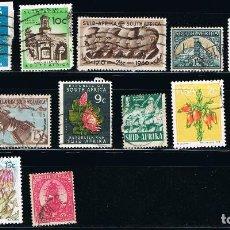 Sellos: SUDAFRICA - LOTE DE 15 SELLOS - VARIOS (USADO) LOTE 4. Lote 101685971