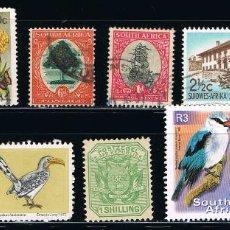 Sellos: SUDAFRICA - LOTE DE 10 SELLOS - VARIOS (USADO) LOTE 5. Lote 101686175