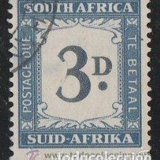 Sellos: SUDAFRICA.1927 POSTAL DUE. TE BETAAL. *.MH. 3 D. Lote 104773907