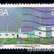 Sellos: AFRICA DEL SUR Nº 664, ESTACION METEOROLOGICA DE GOUGH ISLAND. Lote 114621215