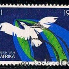 Sellos: AFRICA DEL SUR Nº 349, 5º ANIVERSARIO DE LA REPUBLICA DE SUDAFRICA, USADO. Lote 114624643