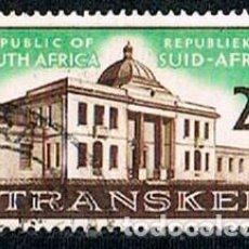 Sellos: AFRICA DEL SUR Nº 329, PRIMERA REUNIÓN DE LA ASAMBLEA LEGISLATIVA DE TRANSKEI, USADO. Lote 114624975