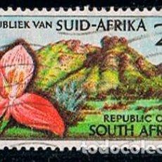 Sellos: AFRICA DEL SUR Nº 315, 50 ANIVERSARIO DE KIRSTENBOSCH BOTANIC GARDENS, JARDIN, CIUDAD DEL CABO USADO. Lote 114625131