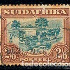 Sellos: AFRICA DEL SUR Nº 64, TRANSPORTE DE MERCANCIAS (AÑO 1930) USADO. Lote 114625787