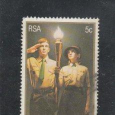 Sellos: SOUTH AFRICA 1981 - MICHEL NRO. 594 - USADO. Lote 114626007