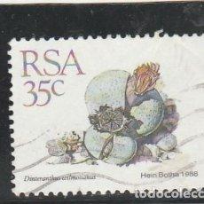 Sellos: SOUTH AFRICA 1988 - YVERT NRO. 669 - USADO. Lote 121158279