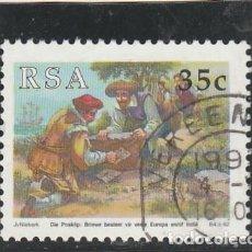 Sellos: SOUTH AFRICA 1992 - YVERT NRO. 754 - USADO. Lote 121158711