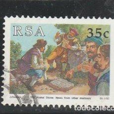 Sellos: SOUTH AFRICA 1992 - YVERT NRO. 755 - USADO. Lote 121158775