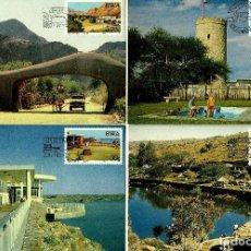 Sellos: AFRICA-SWA SUROCCIDENTAL 1987- YVERT 569/72 [SERIE(4TM) RESORTS] (TARJETA MÁXIMA). Lote 126595043