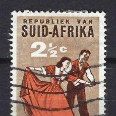 Sellos: SUDÁFRICA - COLONIA BRITÁNICA - SELLO USADO. Lote 127517355