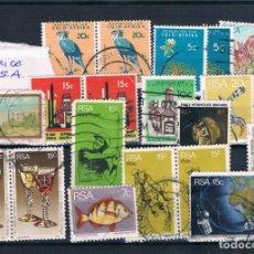 Sellos: SELLOS SUELTOS USADOS DE SUDAFRICA. Lote 137457490