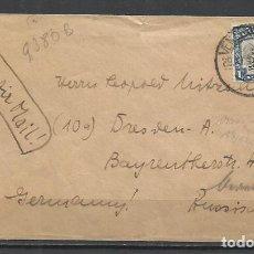 Sellos: Q380B-CARTA SUR AFRICA SEDAFRICA A BERLÍN ALEMANIA 1942 VEAN FOTOS ANVERSO Y REVERSO,HISTORIA POSTAL. Lote 137923202