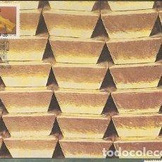 Sellos: SUDAFRICA & MAXI, JOHANNESBURGO, LA CIUDAD DORADA, MINERÍA DE ORO 1986 (50). Lote 143596954