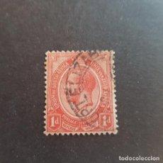Sellos: SUDÁFRICA,1913-1924,JORGE V,SCOTT 3,MATASELLO PORT ELIZABETH,(LOTE AG). Lote 146003102