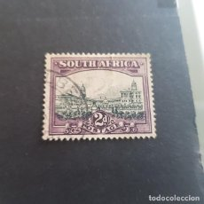 Sellos: SUDÁFRICA,1931,PARLAMENTO,PRETORIA,SCOTT 36A,USADO,DENT. 14 X 14,(LOTE AG). Lote 146682454