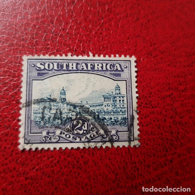 SUDÁFRICA,1931,PARLAMENTO,PRETORIA,SCOTT 36A,USADO,DENT. 14 X 14,(LOTE AG) (Sellos - Extranjero - África - Sudáfrica)