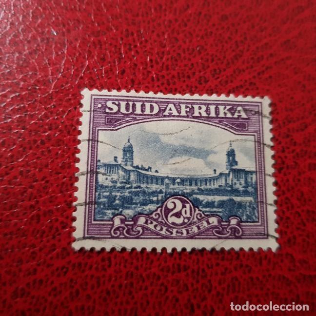 SUDÁFRICA,1950,PARLAMENTO,PRETORIA,SCOTT 55B,USADO,DENT. 14 X 14,(LOTE AG) (Sellos - Extranjero - África - Sudáfrica)