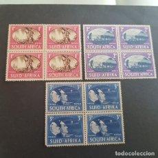 Timbres: SUDÁFRICA,1945,VICTORIA ALIADA II G.M.,SCOTT 100-102**,COMPLETA,NUEVOS SIN FIJASELLO,(LOTE AG). Lote 147502374