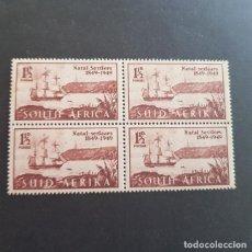 Sellos: SUDÁFRICA,1949,ANIV.LLEGADA COLONOS A NATAL,SCOTT 108**,NUEVO SIN FIJASELLO,(LOTE AG) . Lote 147593258