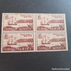 Sellos: SUDÁFRICA,1949,ANIV.LLEGADA COLONOS A NATAL,SCOTT 108**,NUEVOS SIN FIJASELLO,(LOTE AG) . Lote 147593794