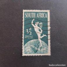 Sellos: SUDÁFRICA,1949,75º ANIVERSARIO DE LA UPU,SCOTT 109A,USADO,(LOTE AG) . Lote 147607082