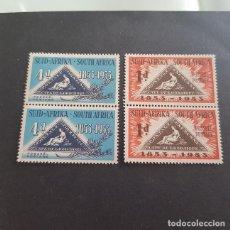 Sellos: SUDÁFRICA,1953,CENTENARIO EMISIÓN POSTAL,SCOTT 193-194**,PAREJA,NUEVOS SIN FIJASELLO,(LOTE AG). Lote 147728510
