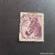 Sellos: SUDÁFRICA,1954,CEBRA,SCOTT 203,USADO,(LOTE AG). Lote 148188474