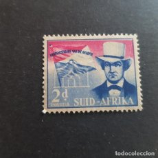 Sellos: SUDÁFRICA,1955,CELEBRACIÓN PACTO UNIÓN DE SUDÁFRICA,SCOTT 216B*,NUEVO,SEÑAL FIJASELLO,(LOTE AG). Lote 148199606