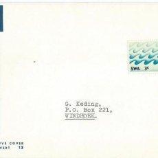 Sellos: 1970. REPÚBLICA SUDAFRICANA/SOUTH AFRICA. F.D.C. AGUA/WATER. NATURALEZA/NATURE. ENVIRONMENT.. Lote 148501550