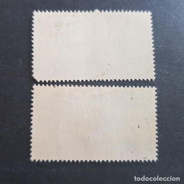 Sellos: SUDÁFRICA,1962,MONUMENTO COLONOS BRITÁNICOS,GRAHAMSTOWN,SCOTT 282-283*,COMPLETA,FIJASELLO,(LOTE AG) - Foto 2 - 148628146